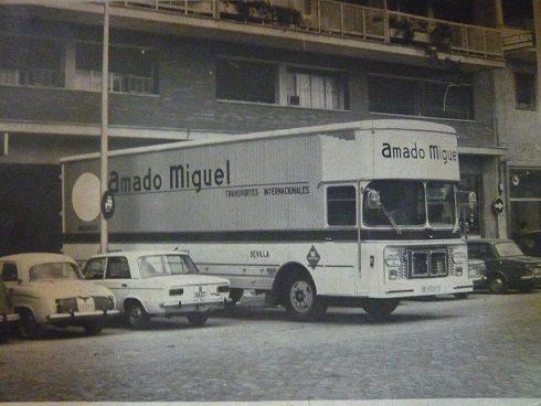 amadomiguel camion - Mudanzas Amado Miguel