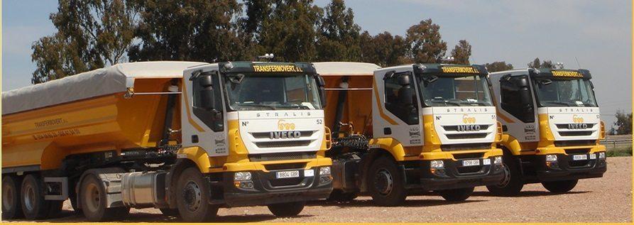 flota de camiones - Transfermovert